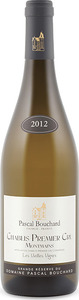 Pascal Bouchard Montmains Vieilles Vignes Chablis 1er Cru 2012, Ac Bottle