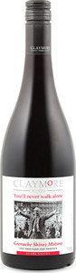Claymore You'll Never Walk Alone Grenache Shiraz Mataro 2013, Clare Valley Bottle