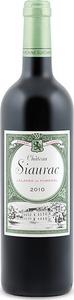 Château Siaurac 2010, Ac Lalande De Pomerol Bottle