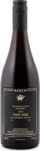 Königschaffhausen Steingrüble Pinot Noir 2013, Qba Baden Bottle