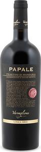 Papale Linea Oro Primitivo Di Manduria 2012 Bottle