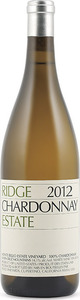 Ridge Estate Chardonnay 2013, Monte Bello Estate Vineyard, Santa Cruz Mountains Bottle