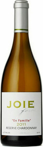 Joiefarm En Famille Reserve Chardonnay 2011, BC VQA Okanagan Valley Bottle