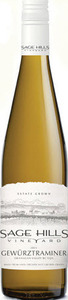 Sage Hills Vineyard Gewürztraminer 2013, BC VQA Okanagan Valley Bottle