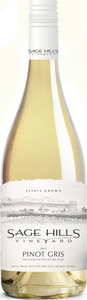 Sage Hills Vineyard Pinot Gris 2013, BC VQA Okanagan Valley Bottle