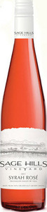 Sage Hills Syrah Rosé 2013, BC VQA Okanagan Valley Bottle