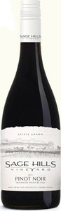 Sage Hills Vineyard Pinot Noir 2013, BC VQA Okanagan Valley Bottle