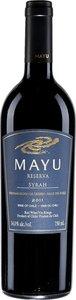 Mayu Syrah Reserva 2011 Bottle