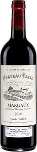 Château Bellevue De Tayac 2012, Ac Margaux Bottle