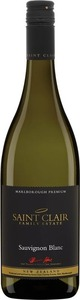 Saint Clair Marlborough Premium Sauvignon Blanc 2013 Bottle