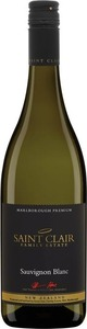 Saint Clair Marlborough Premium Sauvignon Blanc 2014 Bottle