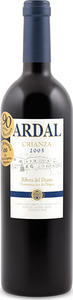 Ardal Crianza 2005, Do Ribera Del Duero Bottle