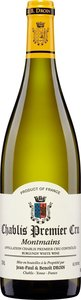 Domaine Jean Paul Et Benoit Droin Chablis Premier Cru Montmains 2013 Bottle