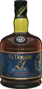 El Dorado 21 Year Old, Guyana Bottle