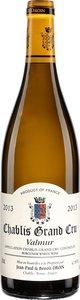 Domaine Jean Paul Et Benoit Droin Chablis Valmur Grand Cru 2013 Bottle