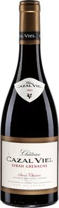 Château Cazal Viel Syrah / Grenache 2012, Saint Chinian Bottle