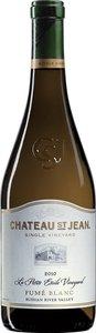 Château St Jean La Petite Étoile Vineyard Fumé Blanc 2012 Bottle