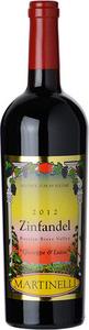 Martinelli Zinfandel Giuseppe & Luisa 2012 Bottle