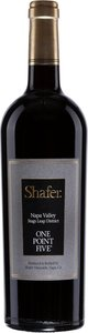 Shafer One Point Five Cabernet Sauvignon 2011, Stags Leap District, Napa Valley Bottle