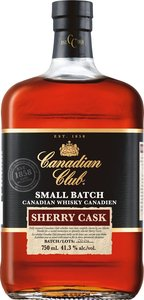 Canadian Club Sherry Cask Bottle