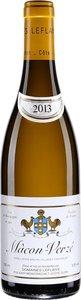 Domaine Leflaive Mâcon Verzé 2013 Bottle