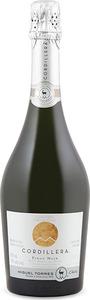 Cordillera Pinot Noir Brut Blanc De Noir, Méthode Traditionnelle Bottle