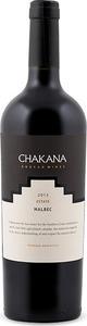 Chakana Reserve Malbec 2013 Bottle