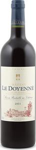 Château Le Doyenné 2011, Ac Côtes De Bordeaux Bottle