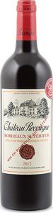 Château Recougne 2012, Ac Bordeaux Supérieur Bottle