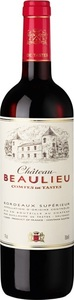 Château Beaulieu Comtes De Tastes 2009, Ac Bordeaux Supérieur Bottle