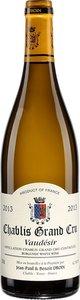 Domaine Jean Paul Et Benoit Droin Chablis Vaudésir Grand Cru 2013 Bottle