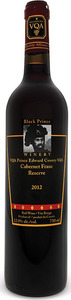 Black Prince Cabernet Franc Reserve 2012, Prince Edward County Bottle