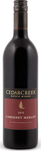 CedarCreek Cabernet Merlot 2010, BC VQA Okanagan Valley Bottle