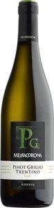 Mezzacorona Pinot Grigio Trentino Riserva 2013 Bottle