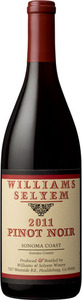 Williams Selyem Central Coast Pinot Noir 2011 Bottle