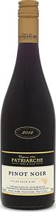Patriarche Pinot Noir 2013, Vin De Pays D'oc Bottle