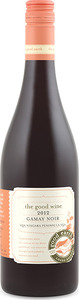 The Good Earth Gamay Noir 2012, VQA Niagara Peninsula Bottle