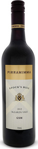 Pirramimma Stock's Hill Gsm 2012 Bottle