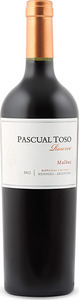 Pascual Toso Reserve Malbec 2012, Barrancas Vineyards, Mendoza Bottle