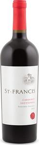 St. Francis Cabernet Sauvignon 2012, Sonoma County Bottle