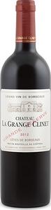 Château La Grange Clinet Grand Réserve 2012, Ac Côtes De Bordeaux Bottle