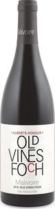 Malivoire Albert's Honour Old Vines Foch 2013, VQA Ontario Bottle