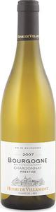 Henri De Villamont Bourgogne Chardonnay 2006, Ac Bottle