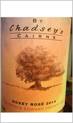 By Chadsey's Cairns Roxey Rosé 2014 Bottle