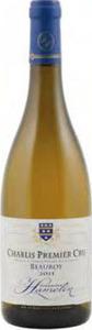 Domaine Hamelin Chablis Beauroy Premier Cru 2013 Bottle