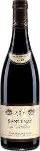 Santenay Vieilles Vignes René Lequin Colin 2012 Bottle