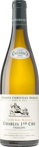Domaine Christian Moreau Chablis Vaillon Premier Cru 2011 Bottle