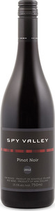 Spy Valley Pinot Noir 2012, Marlborough, South Island Bottle