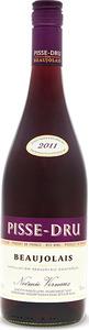 Pisse Dru Beaujolais 2013 Bottle