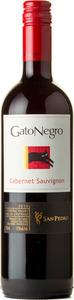 San Pedro Gato Negro Cabernet Sauvignon 2014 Bottle